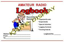 Ham CB Radio Station Logbook Software (Print Out Your Own) CQ, QSL, Files on CD