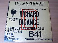 EX/EX !! Richard Digance/Live In Concert/1975 Transatlantic LP