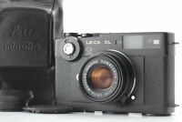 [Mint] Leica CL 50 years + Summicron C 40mm f/2 From JAPAN #2198