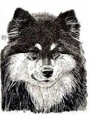Finnish Lapphund Cards 10 Cards