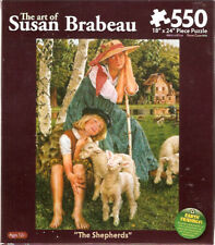 Sheep Lamb Mill Pasture The Shepherds Susan Brabeau Puzzle 550 piece Us*