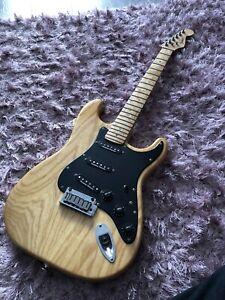 Fender Lite Ash Stratocaster Strat Seymour Duncan Rare USA