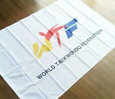 WTF Flag Korea TaeKwonDo Uniform Dobok TKD World Tae Kwon Do Gym Bag Federation