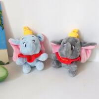 Peluches lindos animales pequeños colgante de dibujos animados elefante llavero