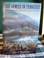 Six Armies in Tennessee Chickamauga Chattanooga Campaigns by Woodworth Civil War