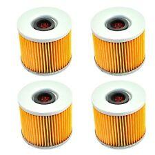 4pcs Oil Filter For Suzuki GSX1100 GSXR1000 GSXR250 GSXR400 GS1100 GSF400 Bandit