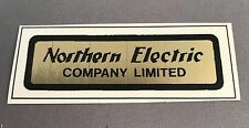 Antique Telephone Water Decal - Northern Electric Company - SKU - 20078