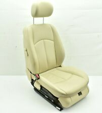 2003-2006 MERCEDES E350 W211 FRONT LEFT DRIVER SEAT COMPLETE ASSEMBLY TAN OEM #1