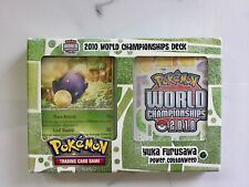POKEMON 2010 WORLD CHAMPIONSHIPS YUKA FURYSAWA'S POWER COTTONWEED DECK 10373 F/S