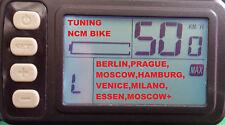 E - Bike Drosselung entfernen - C4B Display (Tuning NCM Prague, Berlin, Moscow)