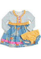 Matilda Jane Hearth and Home Dress Size 12-18  Months Make Believe NWT In Bag