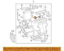 TOYOTA OEM 99-03 Solara 3.0L-V6 Evaporator Heater-Servo 8710606070