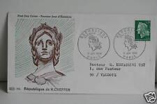 ENVELOPPE PREMIER JOUR - REPUBLIQUE DE CHEFFER 1969