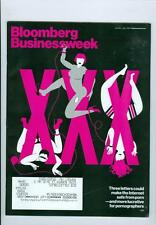 2012 Bloomberg Businessweek Magazine: XXX Three Letters Internet Safe From Porn