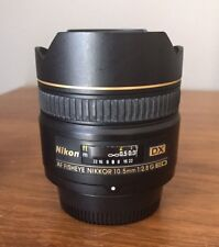 Nikon Nikkor 10.5mm 10.5 F/2.8G f2.8 DX AF ED Fisheye Lens EUC