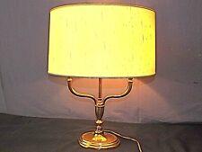 Lampe néo-classique 2 bras de lumières bronze doré , vintage Haut: 49 cm
