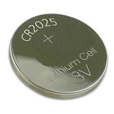 CR2025 3 Volt Lithium Button Cell Battery, Replaces DL2025, ECR2025, BR2025 etc.