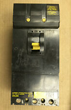 Square D If 3 pole 100 amp 480v If34100 Circuit Breaker Black