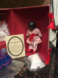 Effanbee Black Patsyette Doll Trunk Set V942 Limited Edition 360 for 1997 UFDC