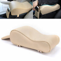Universal 1x Car SUV PU Memory Foam Center Box Armrest Console Pad Cushion Cover