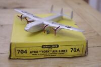 Vintage Dinky Avro York Boxed Complete 704 / 70a