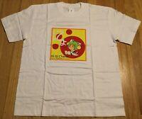 NOS Vintage DI GI CHARAT t shirt M white anime 2002 manga New cute moe Catgirl
