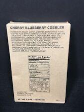 MILITARY MRE DESSERT CHERRY BLUEBERRY COBBLER SURVIVAL FOOD RATION PREPPER