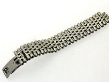 Cartier pulsera mitad banda Bracelet acero de recambios eslabón link 15 mm