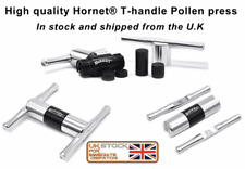 Hornet Heavy Duty Aluminium  T Bar Pollen Press Dry Herb Compress CNC UK stock