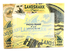 "NEW Margaritaville Landshark Lager Fins Up 4"" x 6"" Paper Photo Frame"