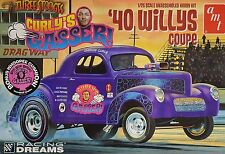 WILLYS COUPE GASSER 1940 '40 THREE STOOGES 1:25 AMT 939 PLASTIC KIT