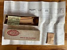 HO Ambroid Pullman-Standard Full Door Box Car Southern Wood Kit