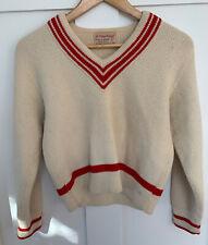 Vintage Olympic Knitwear Inc Womens Wool Sweater Size S
