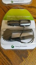 Original Cla60 Cla-60 Sony Ericsson Vpa Auto Charger Power Adapter *New*