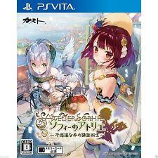 Atelier Sophie: Fushigi na Hon no PS Vita SONY JAPANESE NEW JAPANZON
