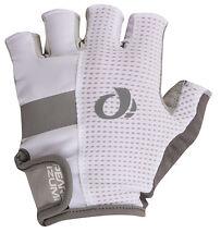 Pearl Izumi Elite Gel Bike Bicycle Cycling Gloves White - Medium