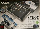"""COBY KYROS MID7005 7"""" 4GB TOUCHSCREEN INTERNET TABLET FOR ANDROID - NEW"""