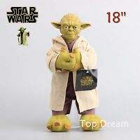 Star Wars Yoda Plush Doll Soft Stuffed Toy Figure 35cm 14'' Kids Xmas Gift
