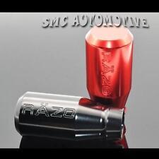 Red Universal Shift Knob Gear Stick Lever 5 6 Speed Manual Car Aluminum MAZDA3