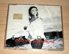 CD Maxi-Single - Sandra - Don't be aggressive