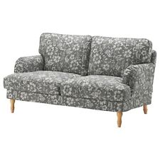 "Ikea STOCKSUND Loveseat 2-Seat Sofa (60 5/8"") Cover 403.063.67 HOVSTEN Gray NEW"