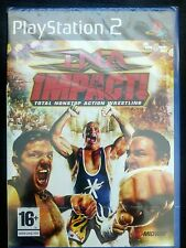 TNA Impact (Sony PlayStation 2, 2008) - PAL - New and Sealed