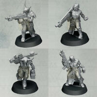 Warhammer 40k Chaos Space Marines Cultists of the Abyss miniatures (set of 4)