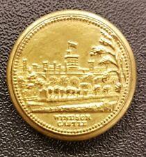 Wibdsor Castle kleine Medaille ohne Jahr - Dose - alt!