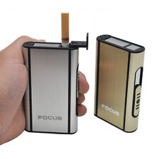 HORNET Automatic Ejection Box Cigarette Case Holder For 10 Cigarettes