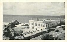 San Francisco~Cliff House~Seal Rocks~Camera Obscura~1920-30s Cars~B&W Postcard