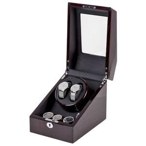Uhrenbeweger 2+3 Uhr 5 Betriebsarten Watch Winder für mechanische Armbanduhr
