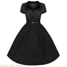 Vestidos de mujer sin marca color principal negro 100% algodón