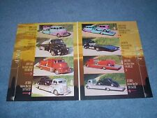 """1948 GMC & Ford COE Car Hauler Article """"4-Pack"""" Cab Over 1947"""