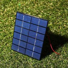 D175 DBBC 2W 6V Electrical Energe Epoxy Polycrystalline w/Line Cable Solar Panel